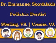 Dr. Emmanuel Skordalakis, DDS -- Pediatric Dentistry in Sterling and Vienna, VA!  Click here for details!
