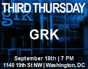 Third Thursday Young Greek Professionals Happy Hour -- 9/18/14 at GRK in Washington, DC! Click here for details!