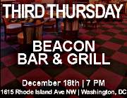 Third Thursday Young Greek Professionals Happy Hour -- 12/18/14 at Beacon Bar & Grill in Washington, DC! Click here for details!