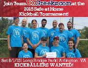 DCGreeks.com is once again fielding a team of Greek and Philhellene kickballers from all over the DC Metro area to compete in the one-day Safe at Home kickball tournament at Arlington's Long Bridge Park on Saturday 8/1/15 to benefit Bridges To Independence (f/k/a the Arlington-Alexandria Coalition for the Homeless!) Kickballers wanted! Sign-up now!  Click here for details!