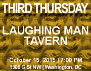 Third Thursday Young Greek Professionals Happy Hour -- 10/15/15 at Laughing Man Tavern in Washington, DC! Click here for details!