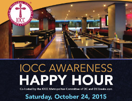 The IOCC Metropolitan Committee of DC and DCGreeks.com invite you to an IOCC Awareness Happy Hour on Saturday, 10/24/2015 at Barcode in Washington, DC. Join us for an evening to benefit IOCC�s ongoing humanitarian response in Syria, Greece, and other countries around the world. Click here for details!