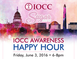 The IOCC Metropolitan Committee of DC invites you to an IOCC Awareness Happy Hour on Friday, 6/3/2016 at Sugar in Washington, DC. Join us for an evening to benefit IOCC�s ongoing humanitarian response in Greece, Syria, Ethiopia and other countries around the world. Click here for details!