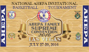The AHEPA National Athletics Department is holding its annual NAIBT – National AHEPA Invitational Basketball Tournament at the end of the 2016 AHEPA Supreme Convention Week in Las Vegas, NV. Click here for details!