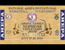 The AHEPA National Athletics Department is holding its annual NAIBT � National AHEPA Invitational Basketball Tournament at the end of the 2016 AHEPA Supreme Convention Week in Las Vegas, NV. Click here for details!