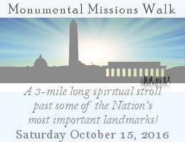 On October 15, 2016, Orthodox Christians from around the Washington, D.C. metropolitan area will converge on the National Mall for the 4th annual Monumental Missions Walk, a 3-mile long spiritual stroll past some of the Nation's most important landmarks.  Click here for details!