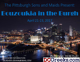 Bouzoukia in the Burgh 2017 -- Pittsburgh Hellenic Weekend & Basketball Tournament -- 4/21/17 to 4/23/17! Click here for details!