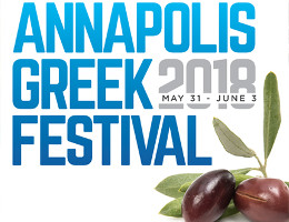 Annapolis Greek Festival - May 31st - June 3rd, 2018 - Ss. Constantine & Helen Greek Orthodox Church, Annapolis, MD.  Click here for details!