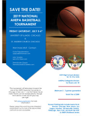The 2019 AHEPA National Basketball Tournament is taking place on July 5-6, 2019 in Chicago, IL. Teams will compete in a Sons/HS division (ages 14 � 18) and an AHEPA/Collegiate division (ages 18+).  Click here for details!