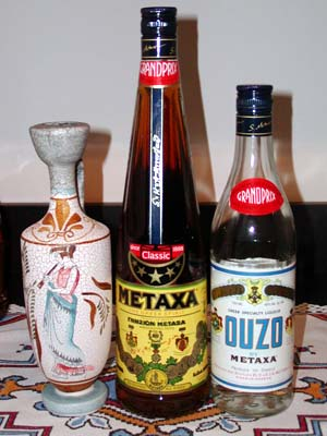 Ouzo And Metaxa Do They Really Do That Dcgreeks Com