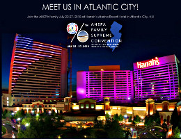 Join the AHEPA family July 22-27, 2018 at Harrah's Marina Resort Hotel in Atlantic City, NJ for the 96th AHEPA Family Supreme Convention! Click here for details!