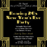 The Bayside Sons of Pericles & Maids of Athena cordially invite you to a Roaring 20s New Year's Eve Party on Monday, December 31, 2019 at the LaGuardia Plaza Hotel in East Elmhurst, NY!  General Admission Tickets on sale at DCGreeks.com! Click here for details!