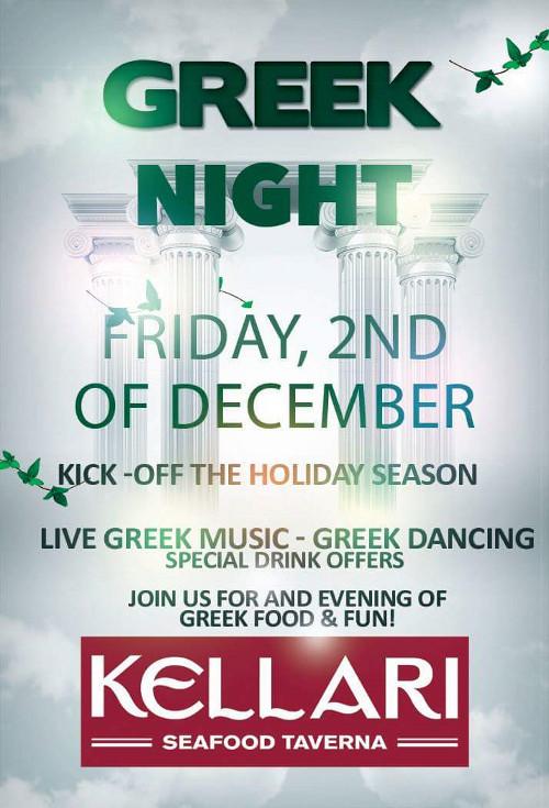 Kellari Taverna's Greek Night (DCGreeks com)