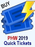 Purchase PHW 2019 Single Event Tickets for Individuals or Groups